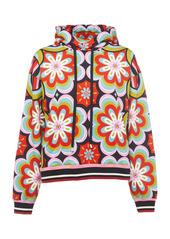 La DoubleJ Printed Cotton Sweatshirt
