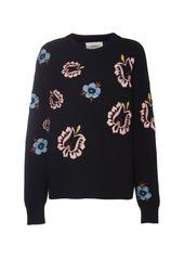 La DoubleJ Printed Knit Sweater