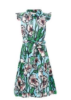 La DoubleJ Short & Sassy floral-print cotton dress