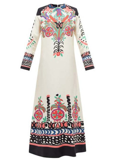 La DoubleJ Swing printed twill dress