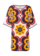 La DoubleJ Terry Printed Cotton Tunic