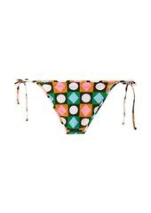 La Doublej Lucky Charms-print bikini bottoms