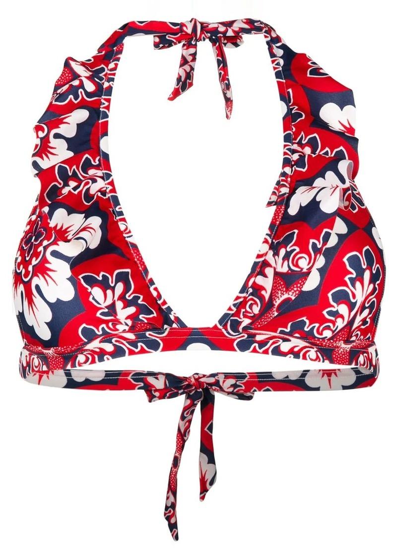 La Doublej Palazzo Rosso bikini top