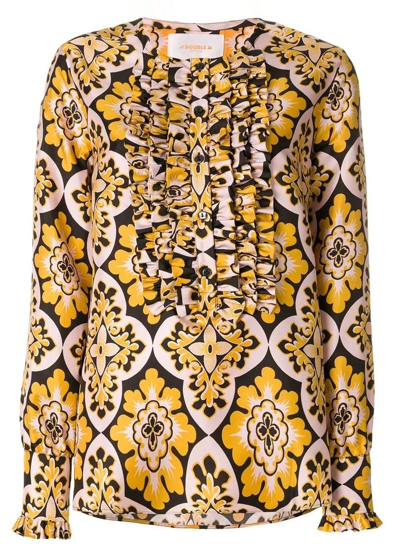 La Doublej Palazzo tuxedo shirt