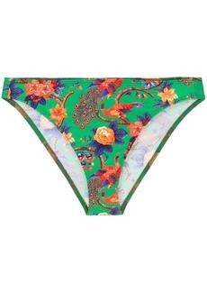 La Doublej Pavone Verde bikini bottoms
