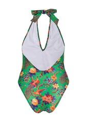 La Doublej Pavone Verde swimsuit