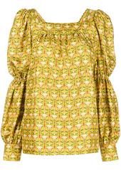 La Doublej peasant blouse