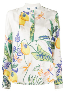 La Doublej Portofino silk blouse