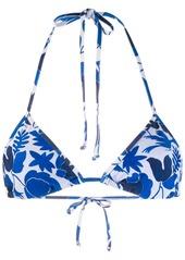 La Doublej printed string bikini bottoms