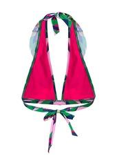 La Doublej Rouches bikini top