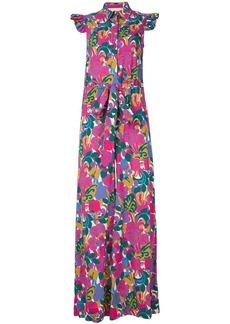 La Doublej ruffle print jumpsuit