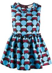 La Doublej sleeveless geometric print blouse