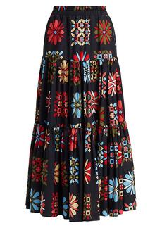 La Doublej Tiered Maxi Skirt
