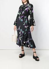 La Doublej x Mantero floral print shirt