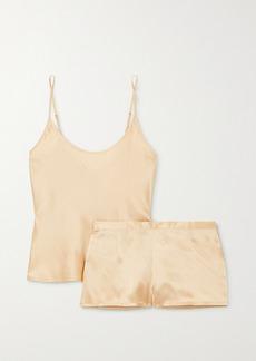 La Perla Silk-satin Pajama Set