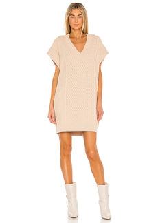 L'Academie Cable Vest Dress