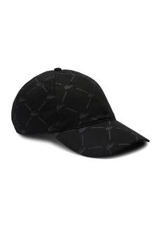 Lacoste Argyle Twill Logo Baseball Cap
