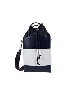 Lacoste Chantaco Knot Color-Block Drawstring Crossbody Bag