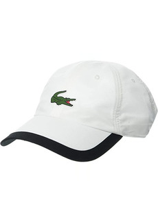 Lacoste Microfiber Semi Fancy Brim Croc Hat