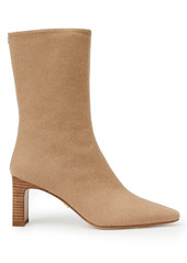 Lafayette 148 Anna Camel Hair Ankle Boots