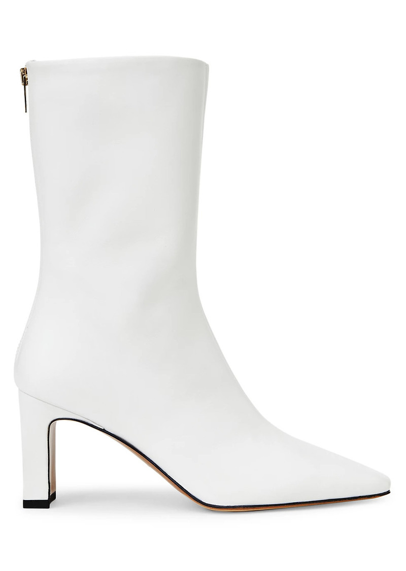Lafayette 148 Anna Leather Ankle Boots