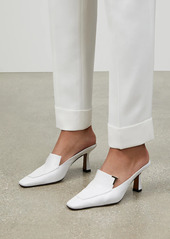 Lafayette 148 Ciara Leather Loafer Mules