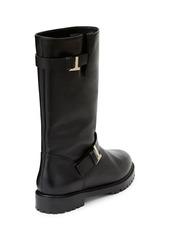 Lafayette 148 Jordan Leather Moto Boots