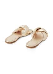 Lafayette 148 Germaine Knot Slide Sandal (Women)