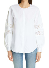 Lafayette 148 New York Austin KindCotton Shirt