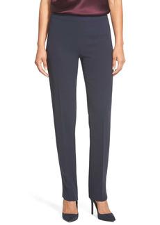 Lafayette 148 New York Bleecker - Finesse Crepe Pants (Regular & Petite)