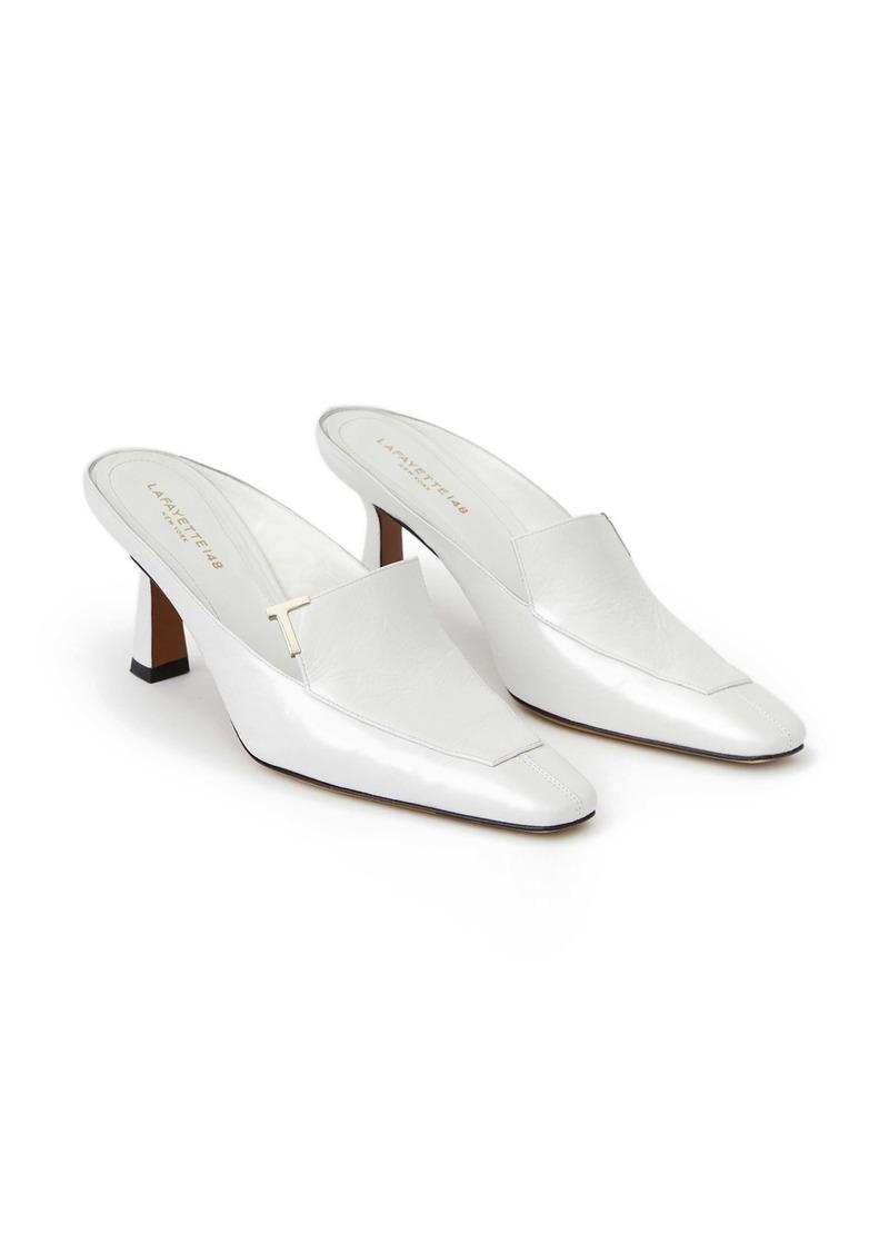 Lafayette 148 New York Ciara Leather Mule (Women)