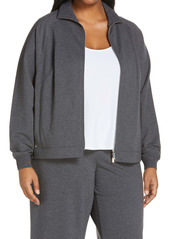 Lafayette 148 New York Copeley Bomber Jacket (Plus Size)