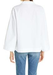 Lafayette 148 New York Dales Organic Cotton Top