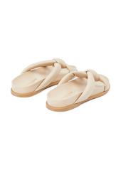 Lafayette 148 New York Honore Flat Slide Sandal (Women)