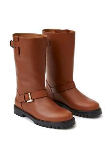 Lafayette 148 New York Jordan Moto Leather Boot (Women)