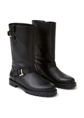 Lafayette 148 New York Jordan Moto Leather Boot (Women)