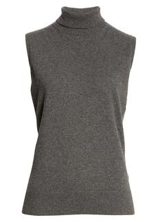 Lafayette 148 New York KindCashmere Turtleneck Sweater Shell