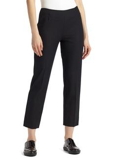 Lafayette 148 New York Lexington Stretch Cotton Crop Pants