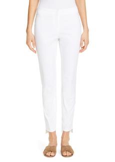 Lafayette 148 New York Manhattan Fundamental Step Hem Slim Pants
