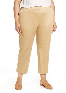 Lafayette 148 New York Manhattan Slim Ankle Pants (Plus Size)