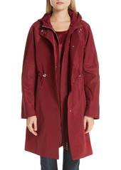 Lafayette 148 New York Maverick Convertible Hooded Coat