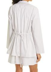 Lafayette 148 New York McGraw Stripe Cotton Blend Jacket