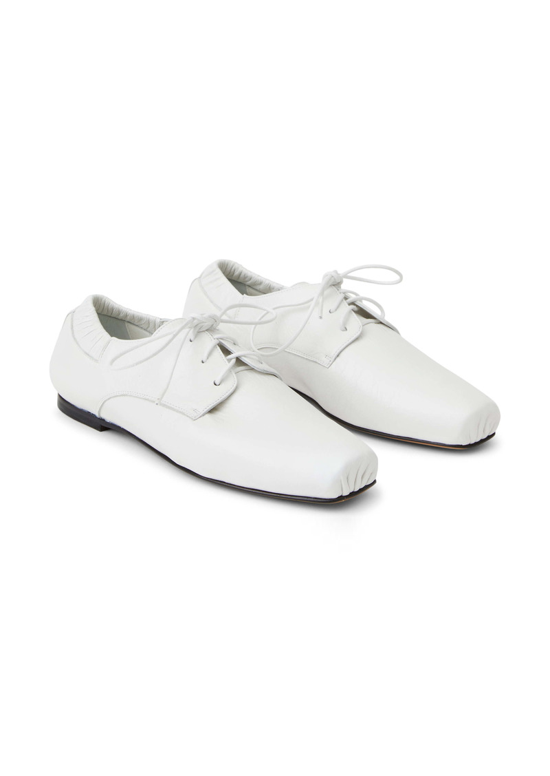 Lafayette 148 New York Michaela Lace-Up Flat (Women)