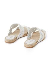 Lafayette 148 New York Ondine Espadrille Slide Sandal (Women)