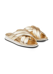 Lafayette 148 New York Perle Slide Sandal (Women)