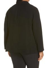 Lafayette 148 New York Rozella Finesse Crepe Jacket (Plus Size)