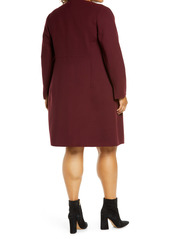 Lafayette 148 New York Russo Longline Wool Coat (Plus Size)