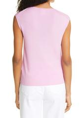 Lafayette 148 New York Sleeveless Rib Sweater Shell