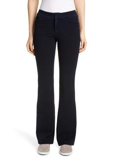 Lafayette 148 New York Suffolk High Waist Flare Jeans