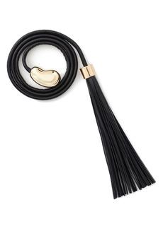 Lafayette 148 New York Tassel Tie Leather Belt